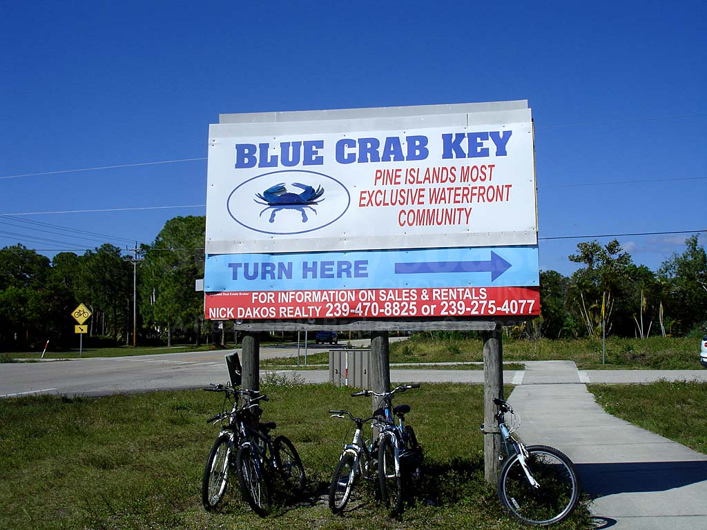 Blue Crab Key Signage