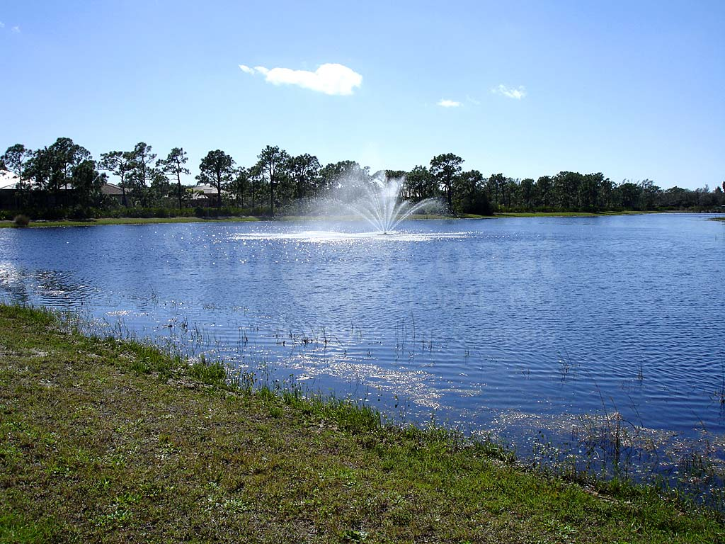 Calusa Ridge View of Lake