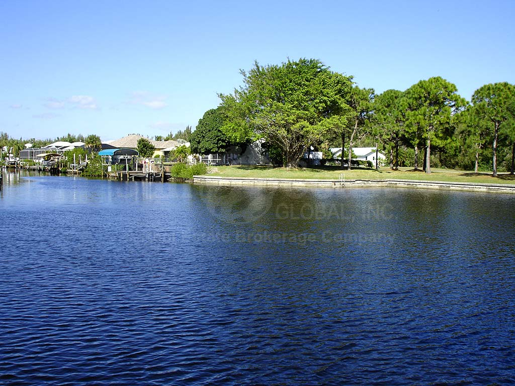 View Down the Canal From Charlotte Shores