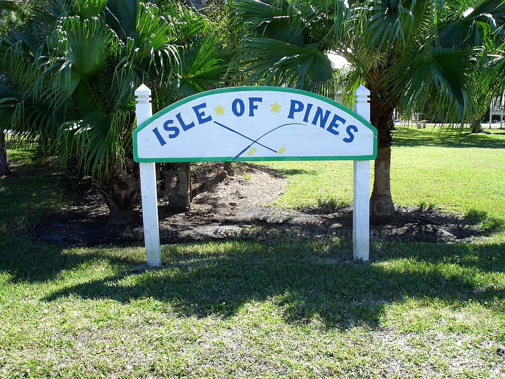 Isle Of Pines Signage