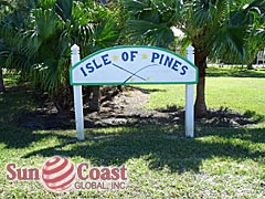 Isle Of Pines Community Sign