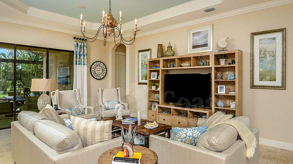 Lazio Model Home at Pebble Pointe At The Brooks, Bonita Springs by Taylor Morrison