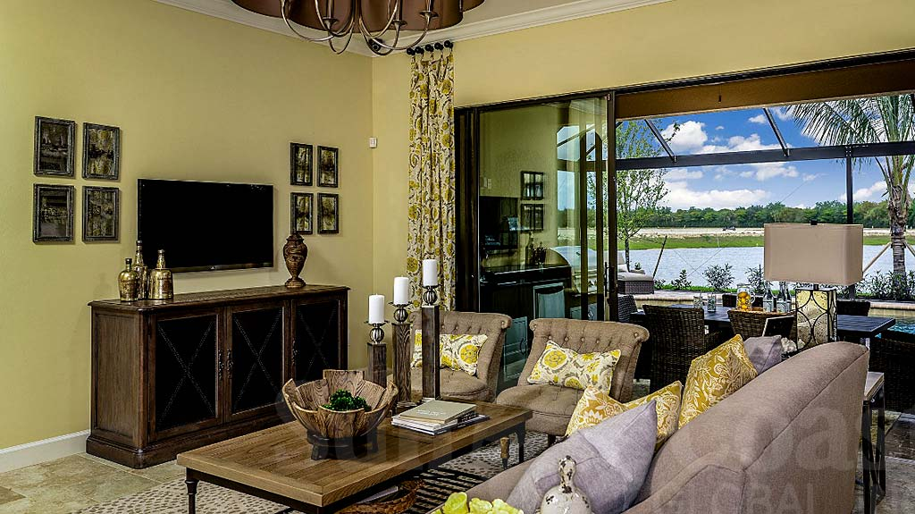Trevi Model Home at Pebble Pointe At The Brooks, Bonita Springs by Taylor Morrison