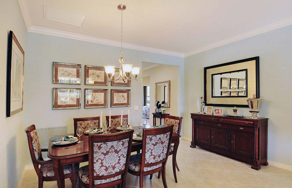 Vernon Hill Model Home in Village Walk at Bonita Springs by Divosta