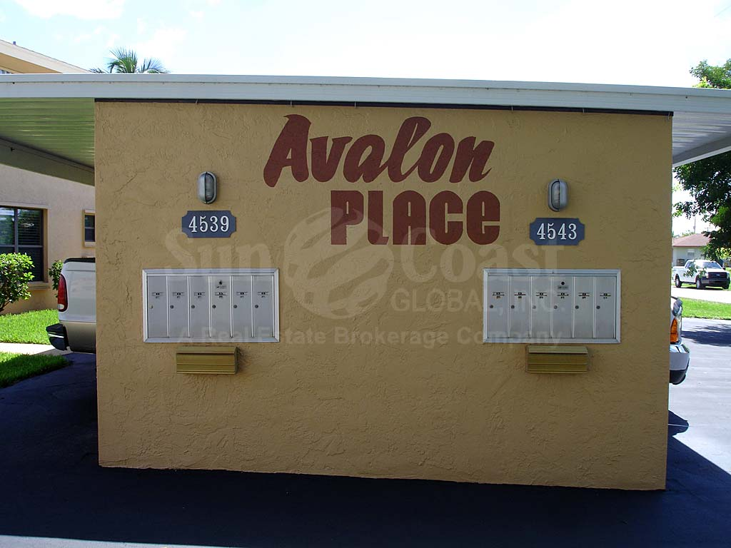 Avalon Place Signage