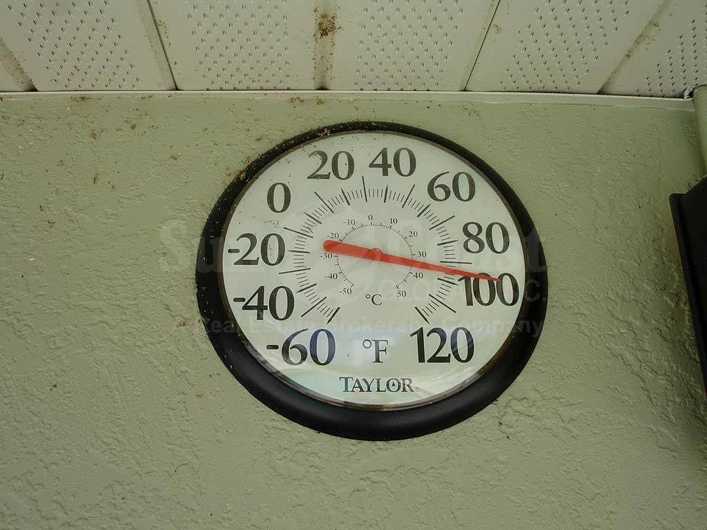 Bayshore Community Pool Thermometer