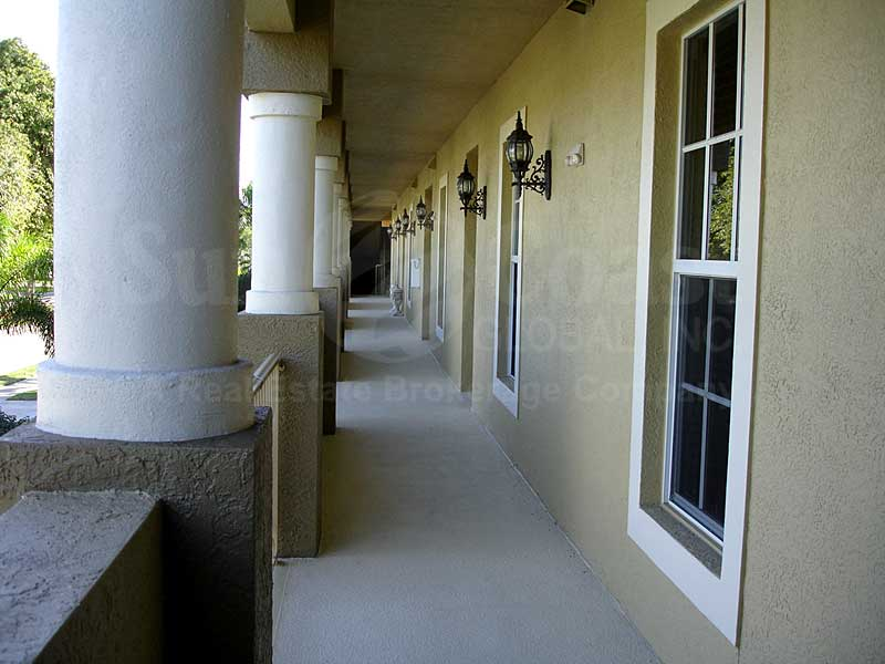 Beach Bay Villas Outdoor Hallway