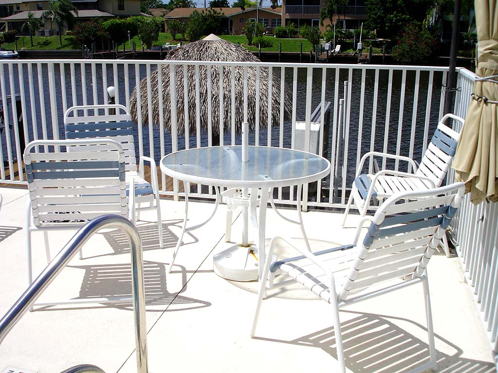 Blue Water Community Pool and Sun Deck Furnishings