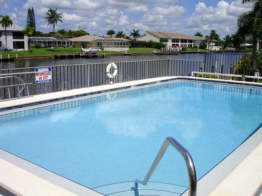 Cape Coral Villas Community Pool