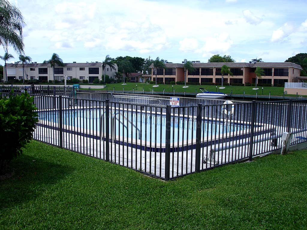 Cape Coral Villas Community Pool Safety Fence