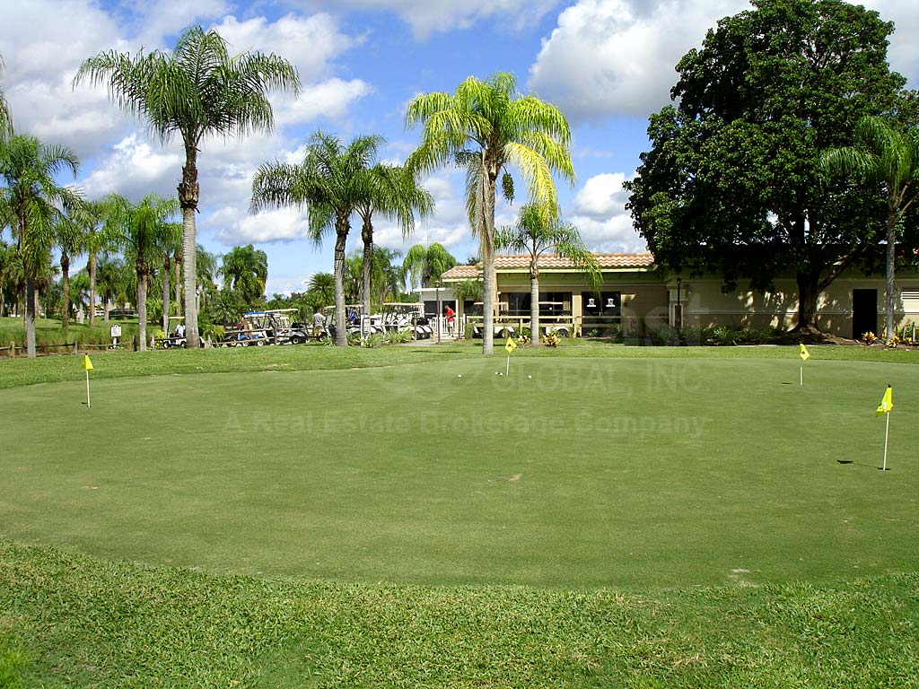 Cape Royal Putting Green