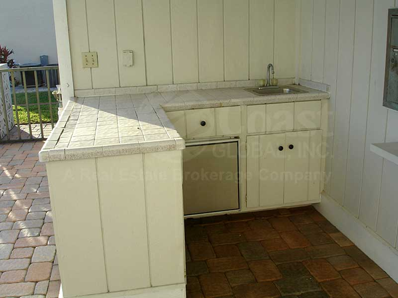 Captains Harbour Community Pool Kitchen