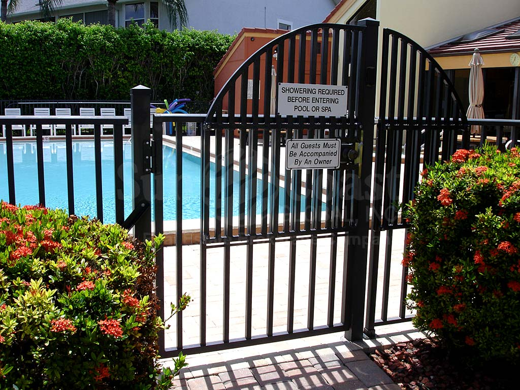 Clipper Bay Community Pool Safety Fence