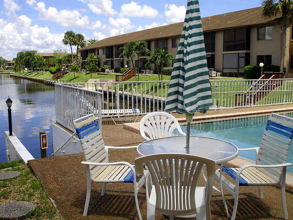 Clubhouse Community Pool and Sun Deck Furnishings