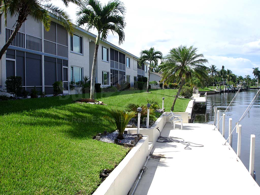 View Down the Canal From Coastal I Condos