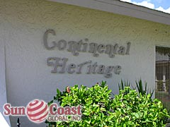 Continental Heritage Community Sign