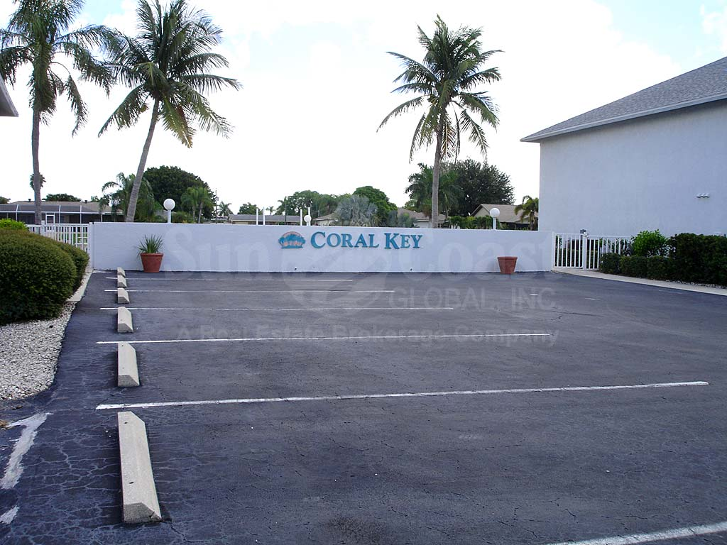 Coral Key Uncovered Parking