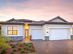 Coral Lakes Model Home by Lennar