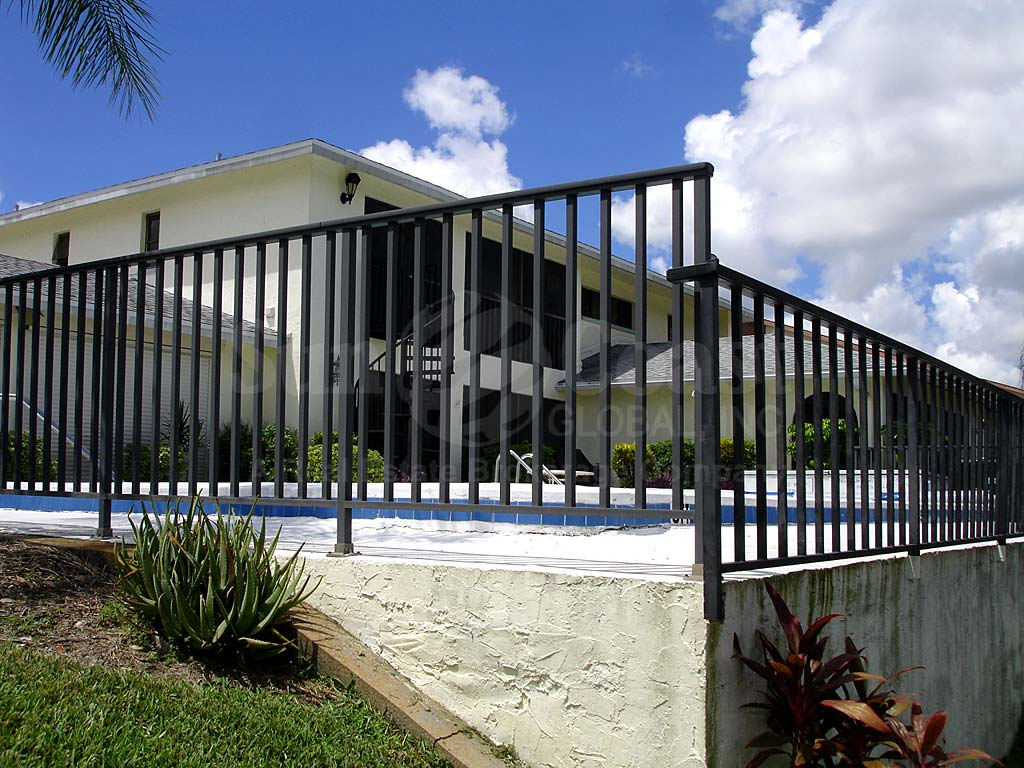 Coral Winds Community Pool Safety Fence