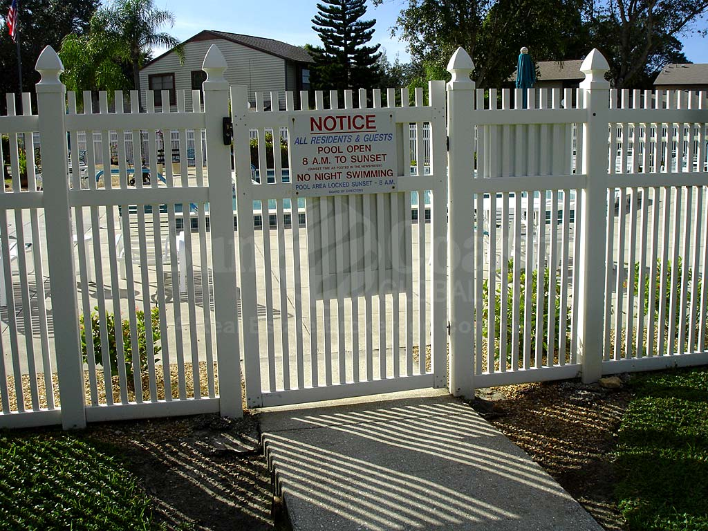 Courtyards North Community Pool Safety Fence