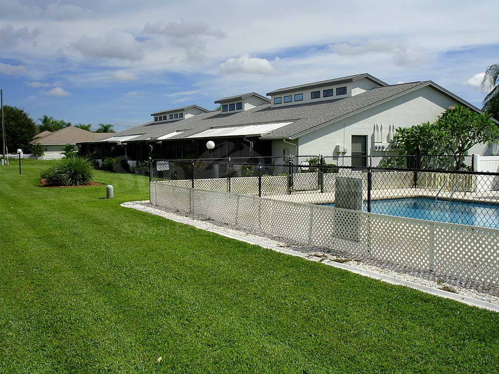 Garden Patios Community Pool Safety Fence