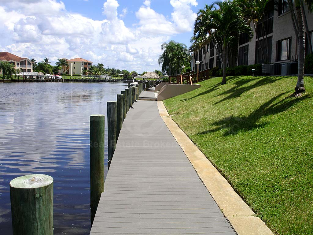 View Down the Canal From Harbourtowne