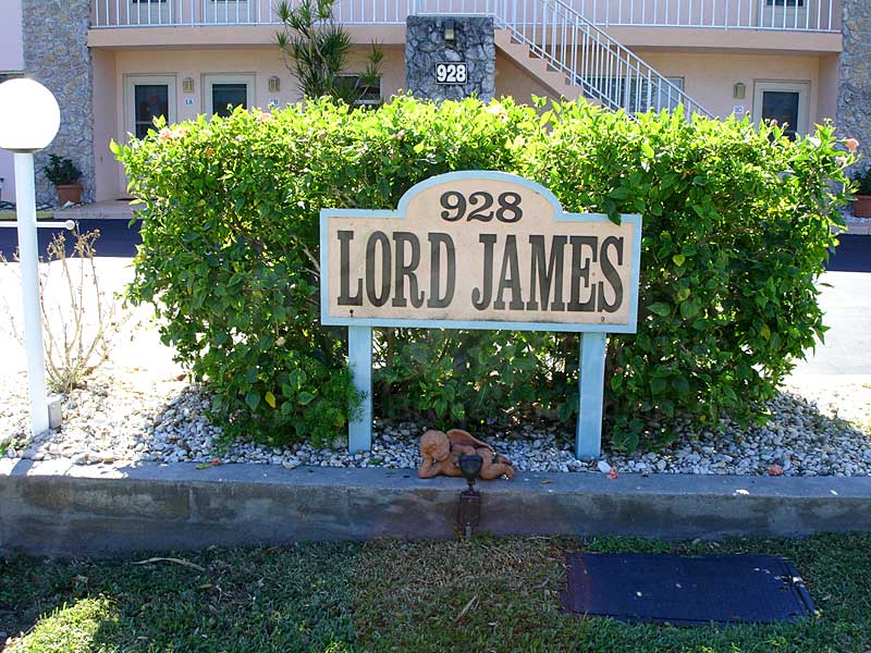 Lord James Signage