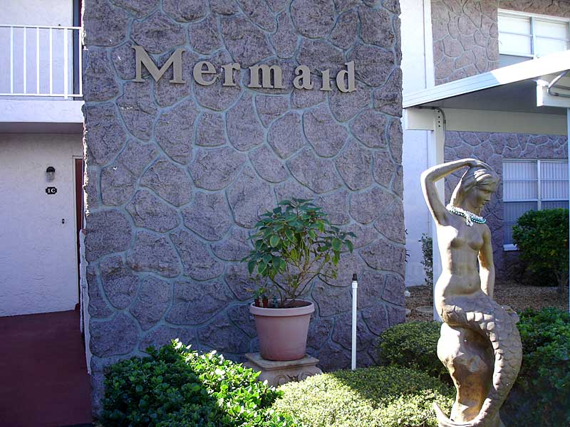 Mermaid Signage