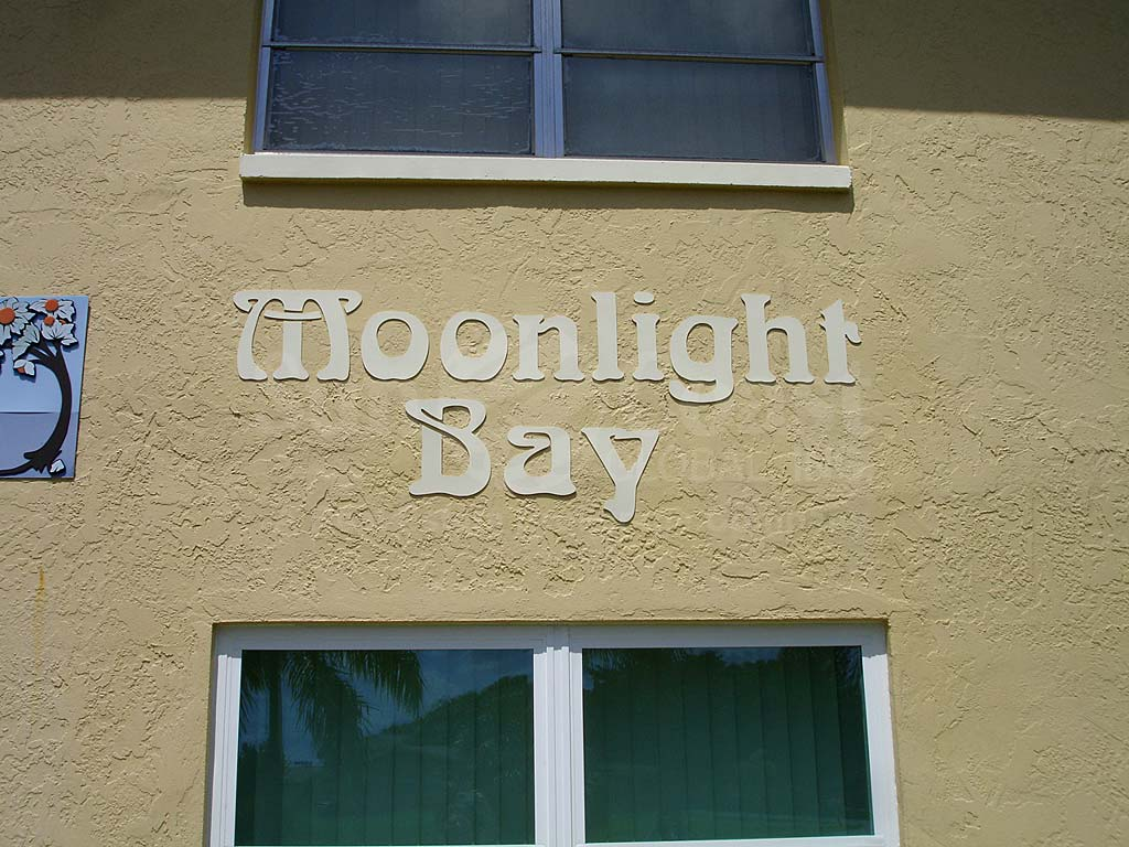 Moonlight Bay Signage