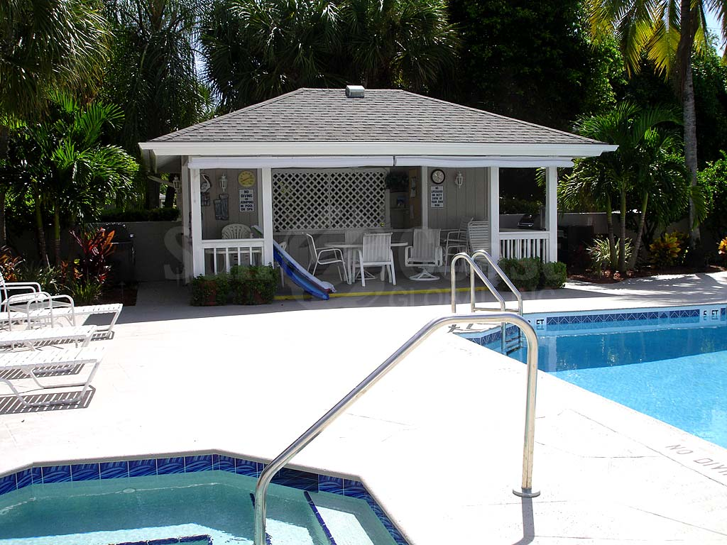 Moorings Community Pool and Cabana