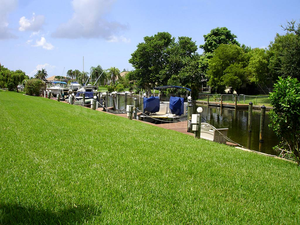 View Down the Canal From Newport Manors