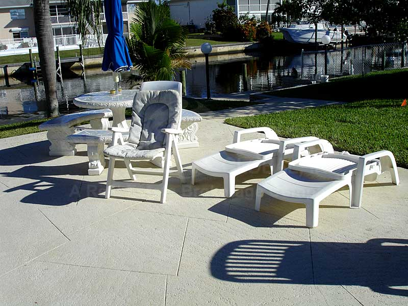Pinebreeze Community Pool and Sun Deck Furnishings