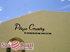 Plaza Country Community Sign