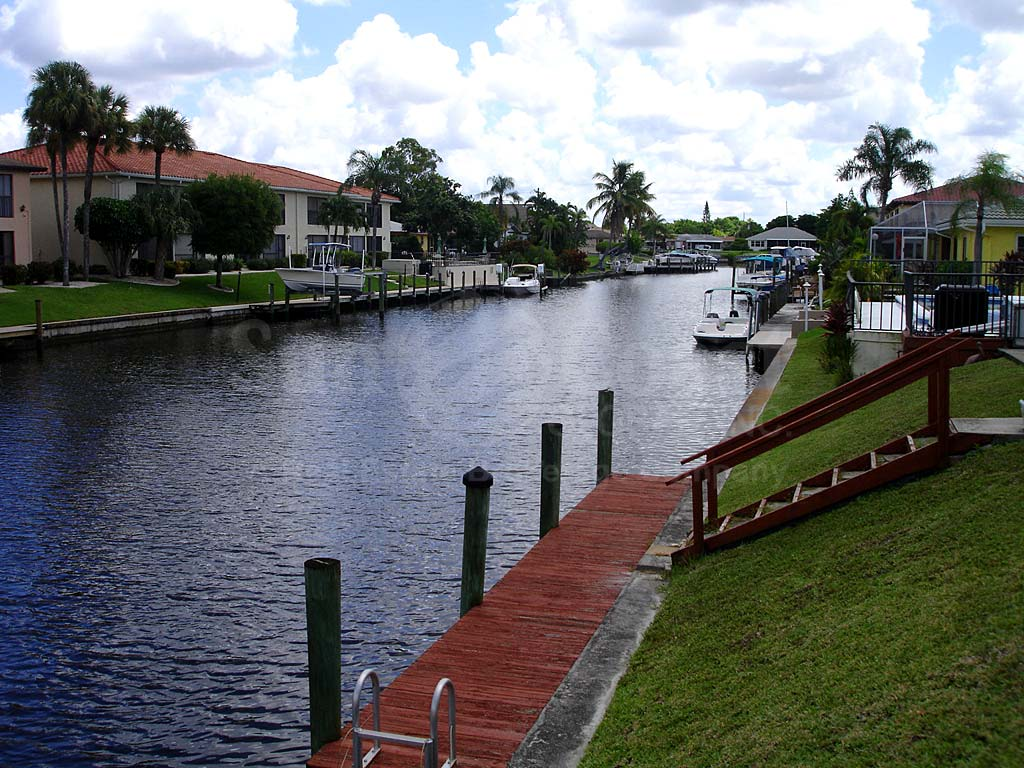 View Down the Canal From Raven Cove