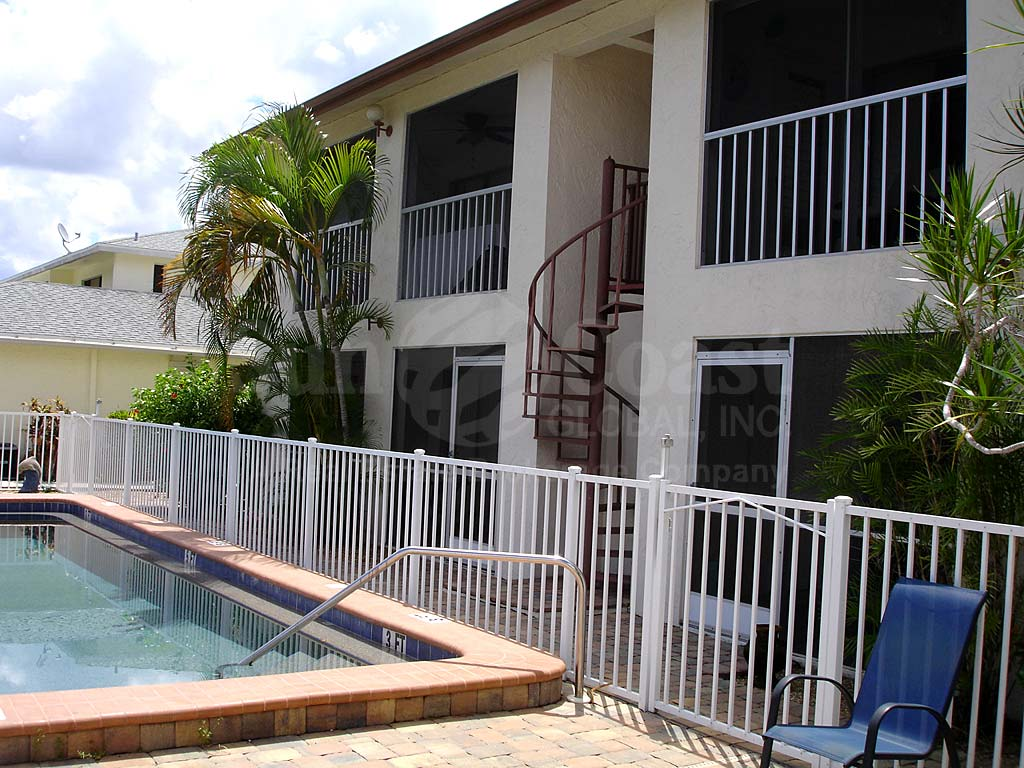 Raven Cove Community Pool Safety Fence