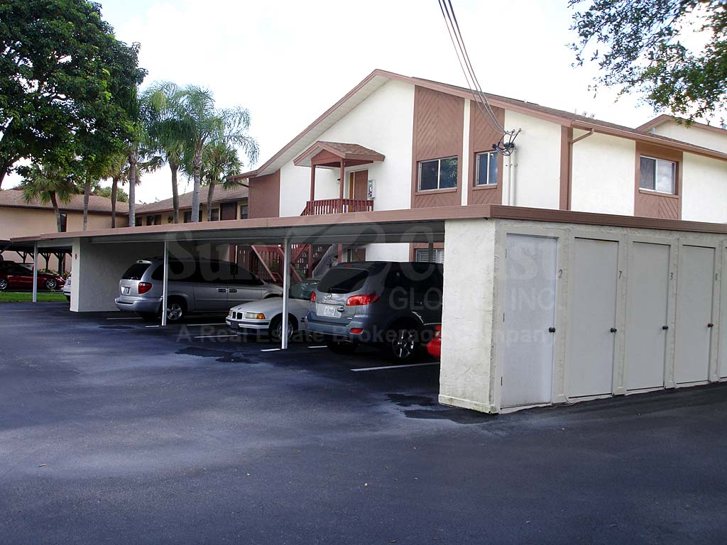 Raven Cove Covered Parking with Storage