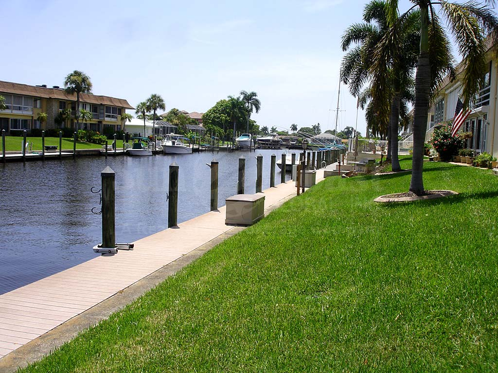 View Down the Canal From Sandy Circle