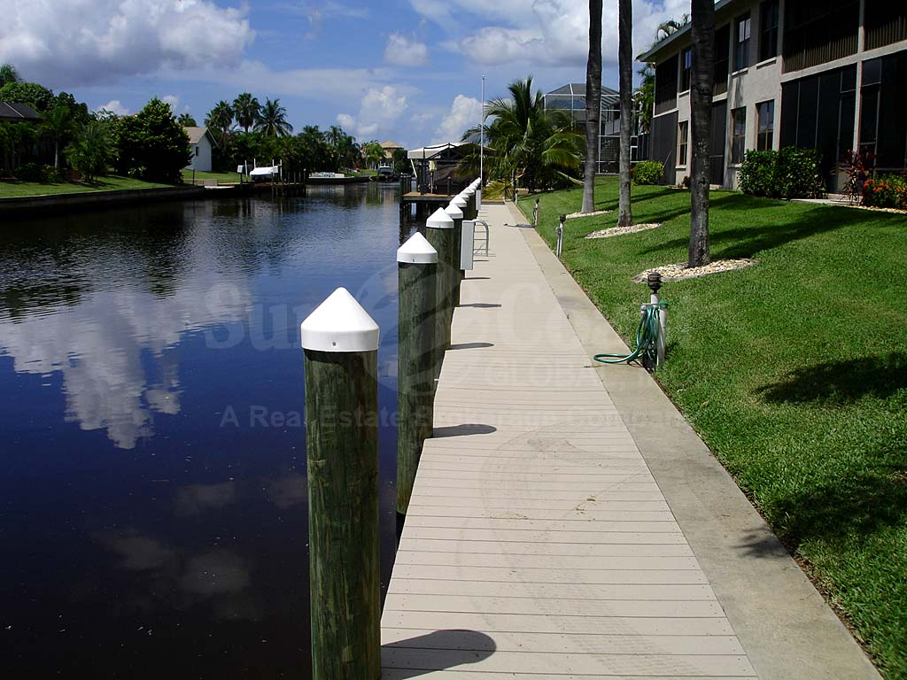 View Down the Canal From Searay