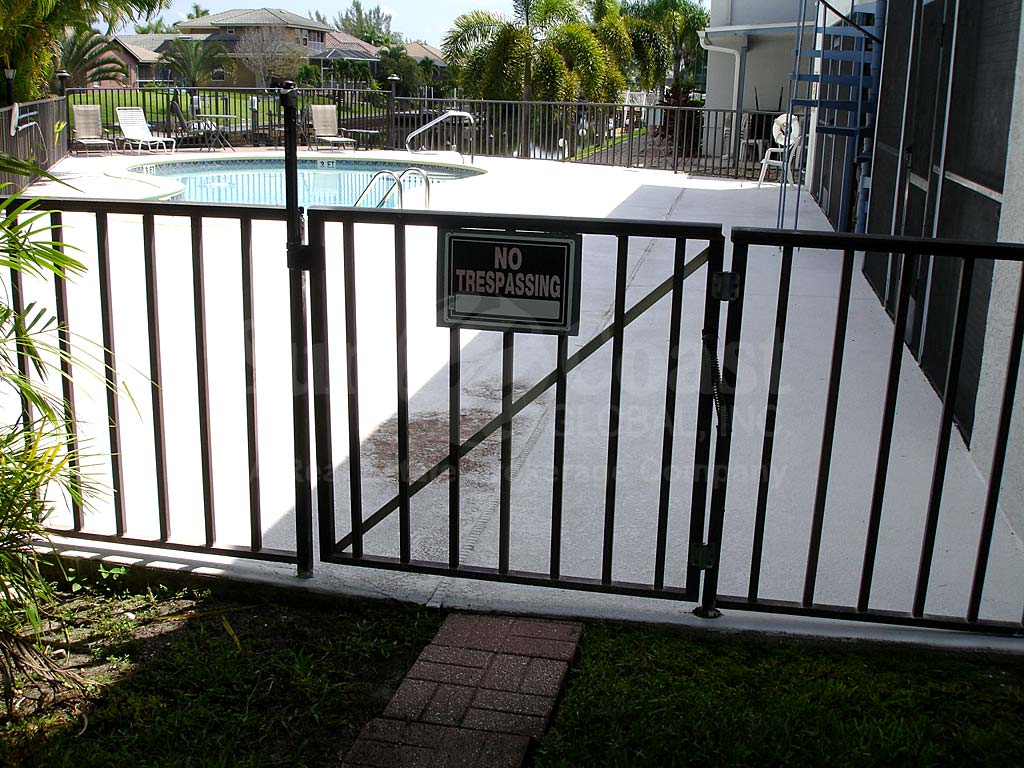 Southern Palms Community Pool Safety Fence