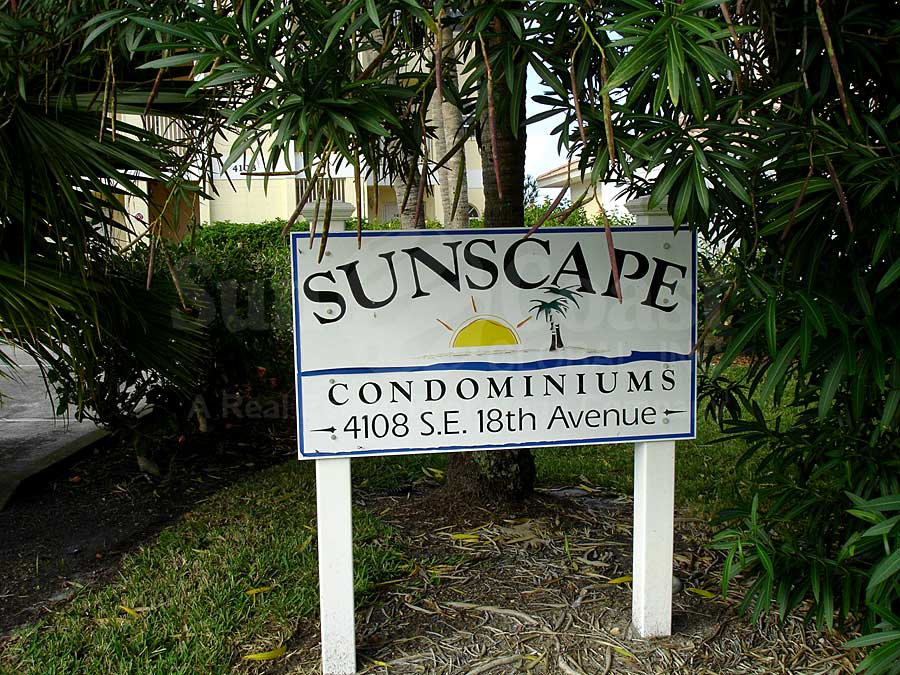 Sunscape Signage