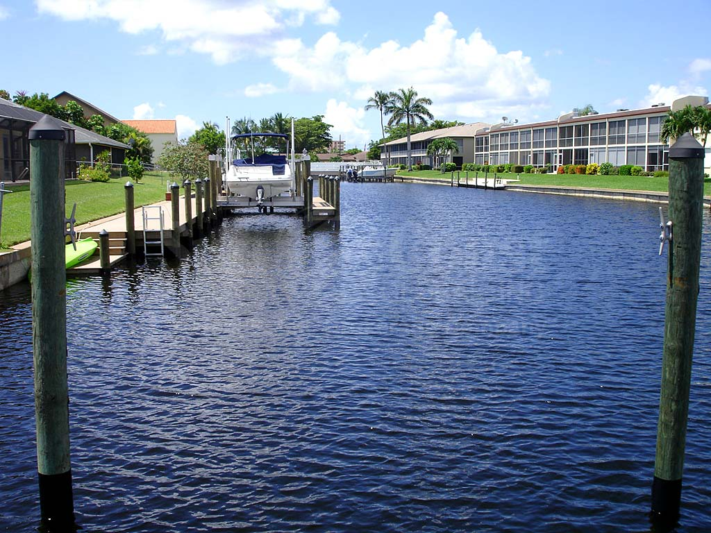 View Down the Canal From Sunwood