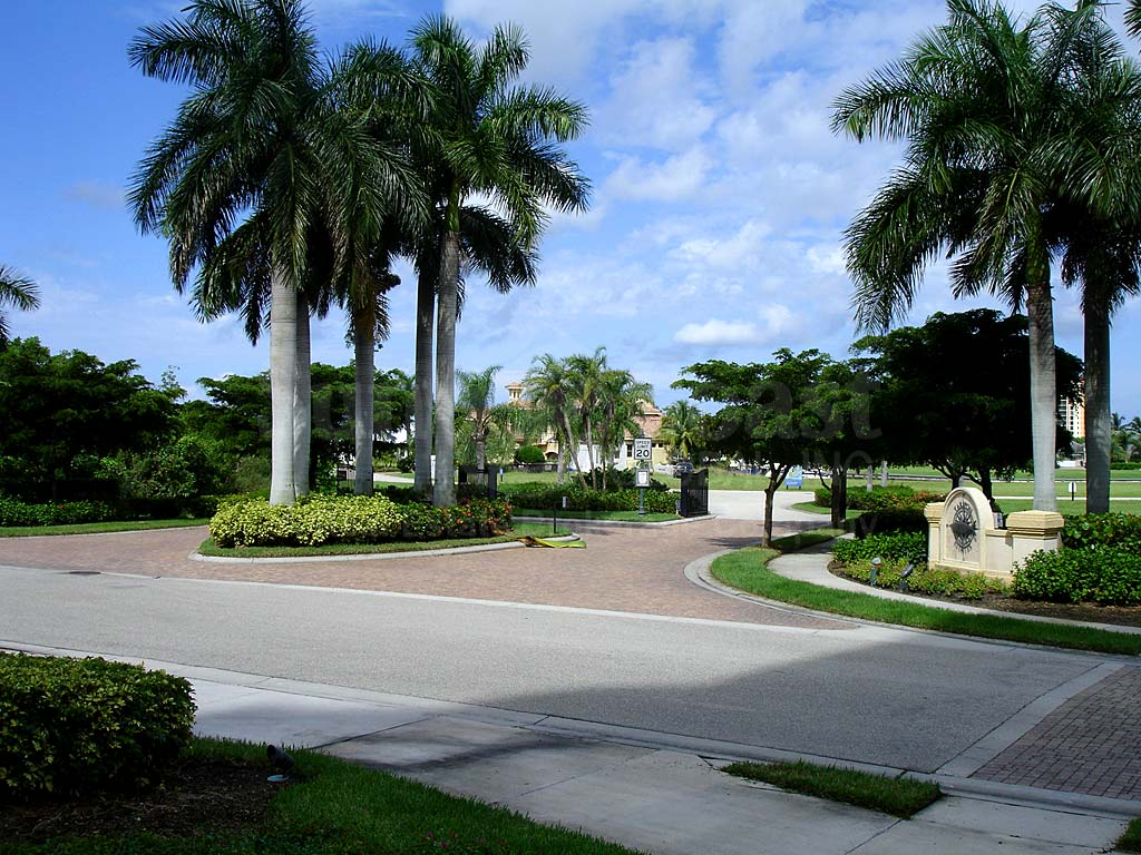 Tarpon Estates Entrance