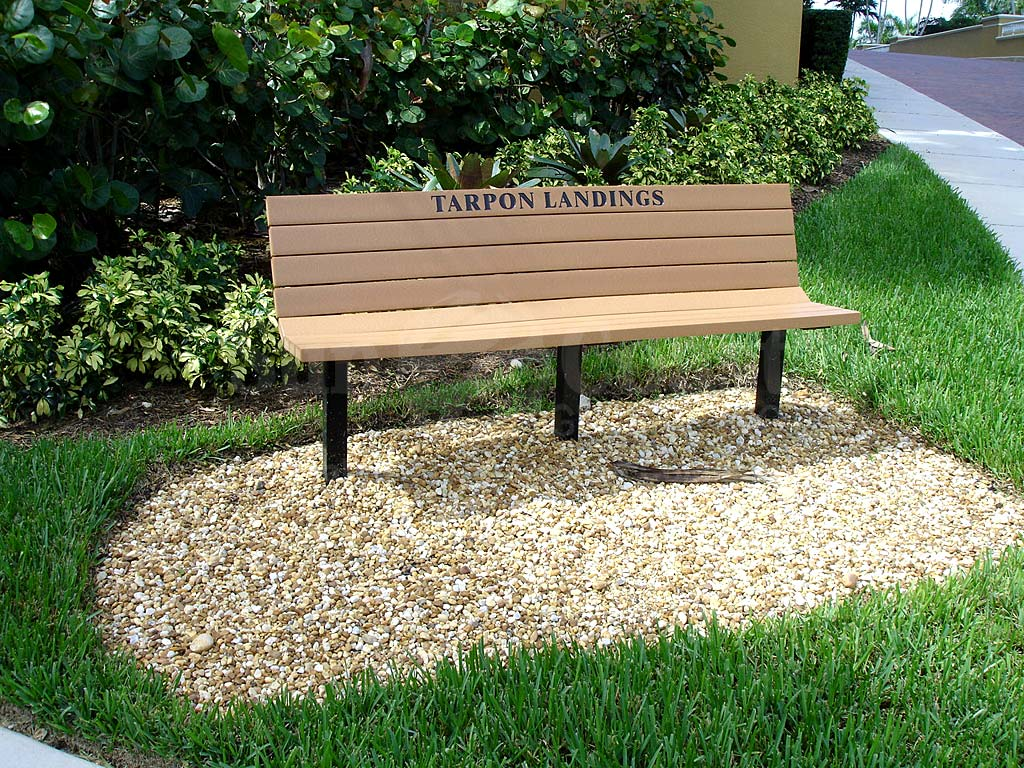 Tarpon Landings Bench