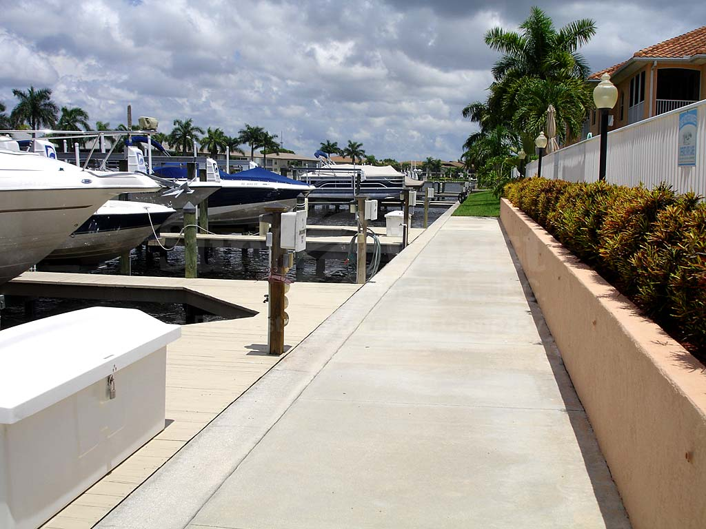 Tuscany Village Boat Docks