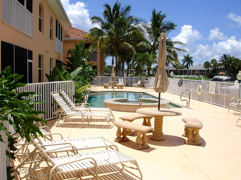 Tuscany Village Community Pool and Sun Deck Furnishings
