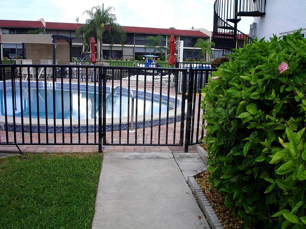 Versailles Community Pool Safety Fence