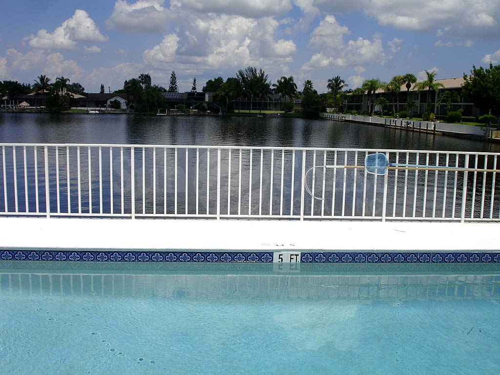 Viking Community Pool Safety Fence