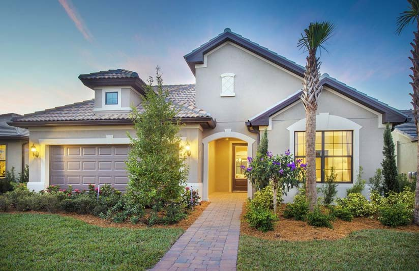 Abbeyville Model Home in Corkscrew Shores, Estero, By Pulte
