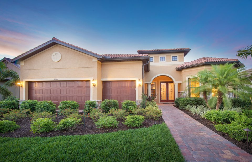 Pinnacle Model Home in Corkscrew Shores, Estero, By Pulte