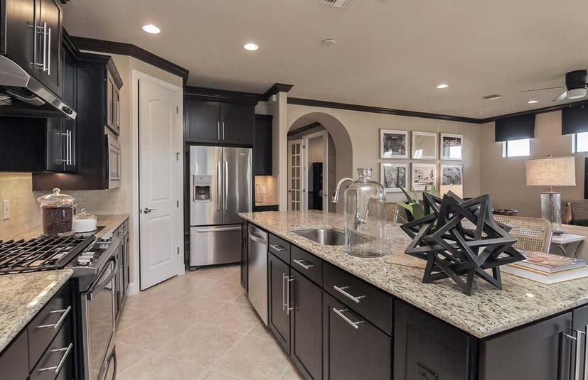 Pulte model home pictures